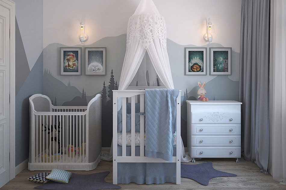 Картины как декор для детской комнаты