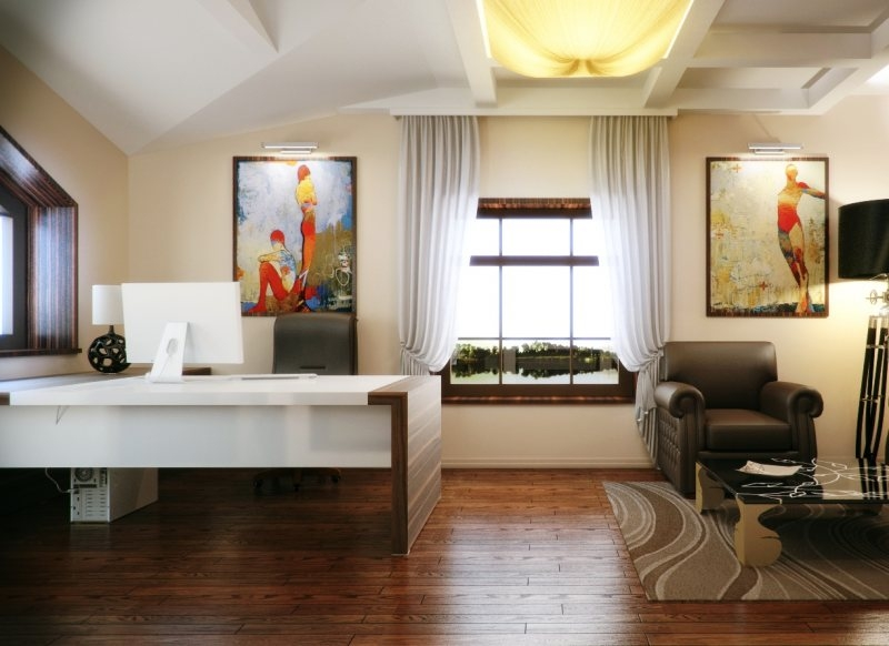 Картины для декора кабинета.