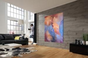 Расширяем горизонты вашего сознания абстрактная живопись в интерьере