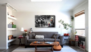 12 способов красиво оформить стену над диваном