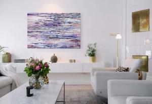 Картины в интерьере квартиры роскошь или элемент дизайна