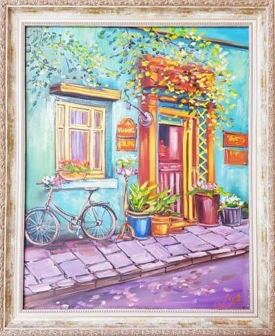 Картина «Яркие воспоминания» - купить картину маслом в Киеве - картины для современных интерьеров Украина - живопись пейзаж