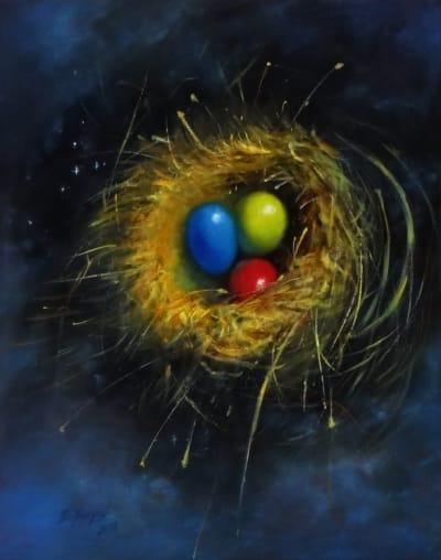 Картина «Сотворение мира» - живопись для современных интерьеров Украина