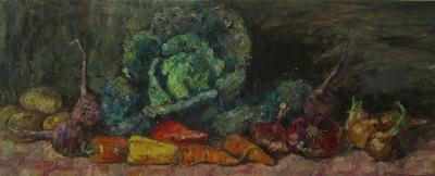 Картина «Деревенский натюрморт»