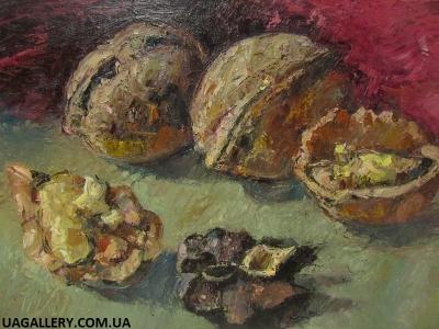 Картина Натюрморт «Орехи»