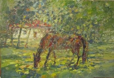 Картина «Лошадь»