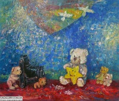 Картина для детей «Звезда»