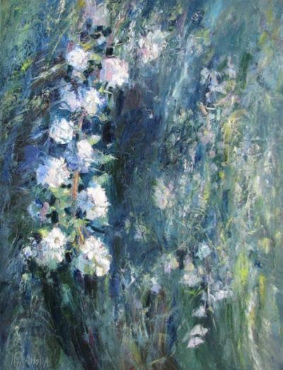 Картина цветы «Жасмин»