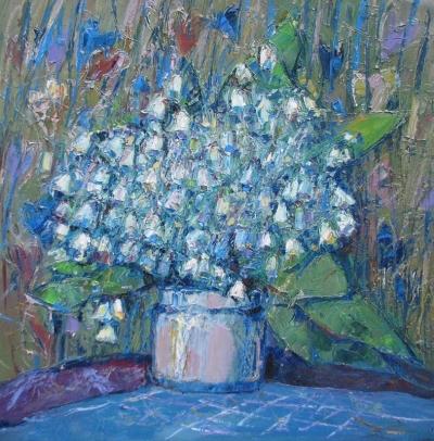 Картиина цветы «Ландыши»