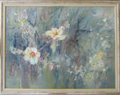 Интерьерная картина Цветение персика