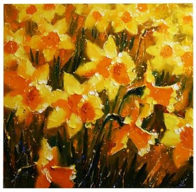 Картина цветы «Нарцисы»
