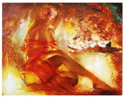 Картина Ню «Вечерняя музыка»
