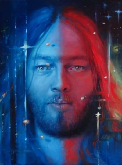 Картина «David Gilmour» живопись портрет Украина