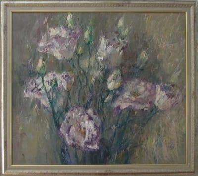 Картина маслом цветы «Букет роз»