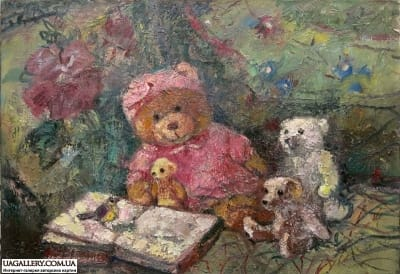 Картина «Мишки. Мамины сказки»