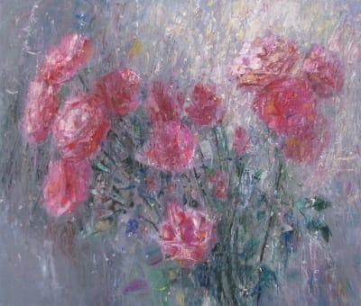 Интерьерная картина «Розы»