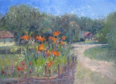 Картина пейзаж «Пирогово»