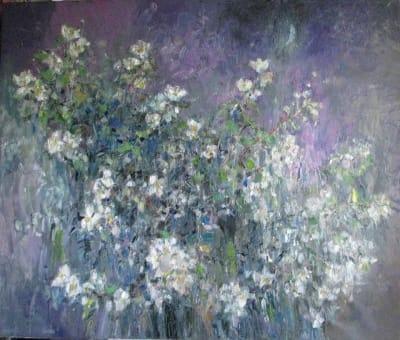 Картина «Цветение жасмина 3»