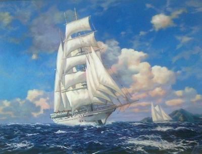 Картина «Морской пейзаж»