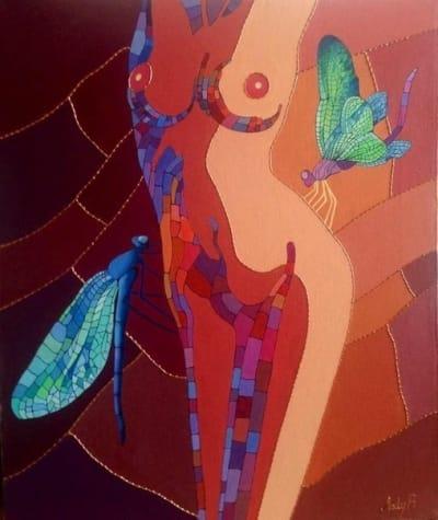 Картина «Стрекозы»