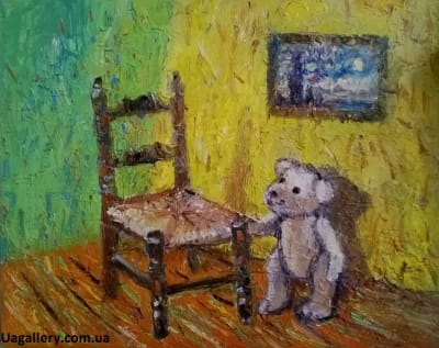 Картина «Мишка Ван Гога»