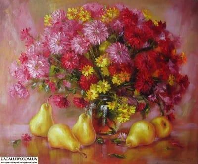 Картина «Натюрморт с грушами»