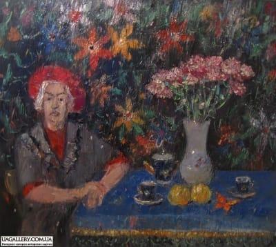 Картина «Хризантемы»