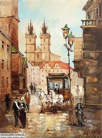 Картина «Очарование Львова»