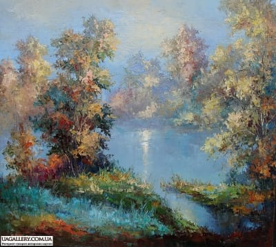 Картина пейзаж «Туман»