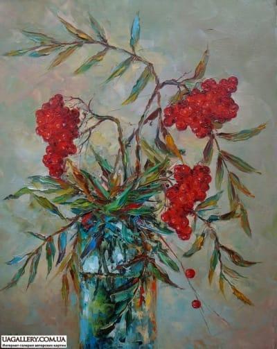 Картина «Рябина»