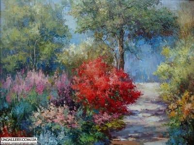 Картина «Осенний день»