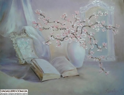Картина «Натюрморт с сакурой»