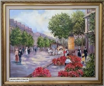 Картина «Городской пейзаж»