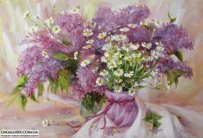 Картина «Весенний букет»