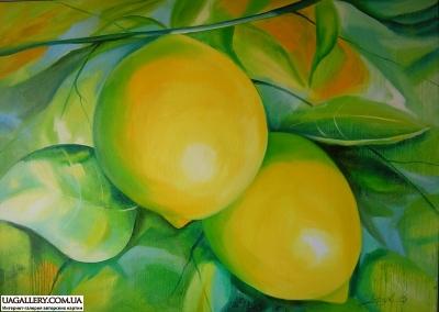 Картина «Лимоны»