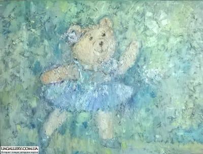 Картина «Мишка-Весна»