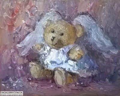 Картина «Мишка-Ангел»