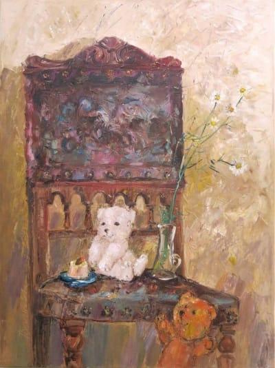 Картина «Мишки. Сладкое свидание»