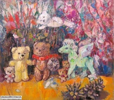 Картина «Мишки: Персей и Андромеда»