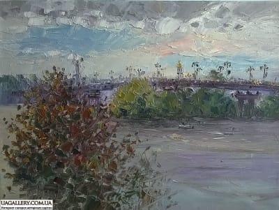 Картина «Виды Киева. Вид на правый берег»