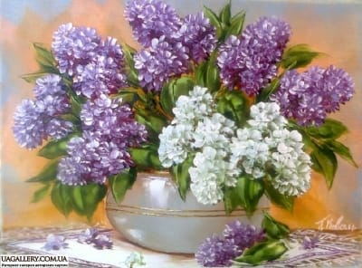Картина «Незабываемый аромат весны...»
