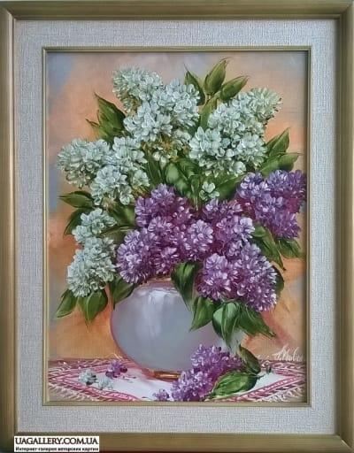 Картина «Незабываемый запах сирени»