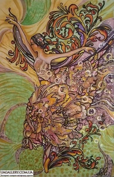 Картина «Балерина»