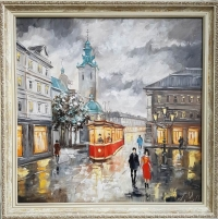 Картина «Очарование Львова» 2 (в раме)