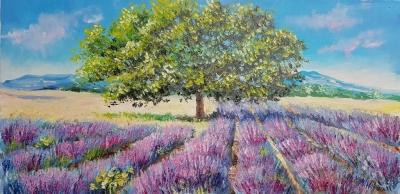 Картина «Лавандовое поле»
