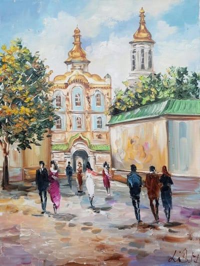 Картина «Виды Киева. Киево-Печерская Лавра»