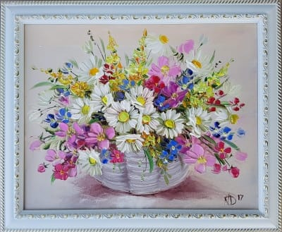 Картина «Полевые цветы» 3