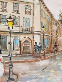 Картина «Гуляя улицами Львова» 3