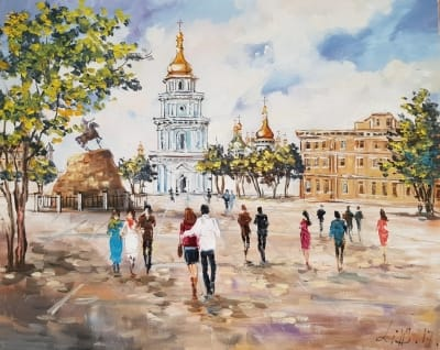 Картина «Виды Киева. София» 3