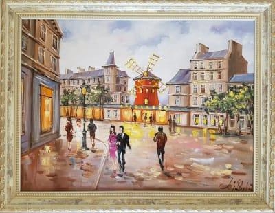 Картина «Этот красочный Париж»